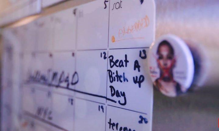 Joanna Jedrzejczyk's reminder on her calendar! #FightWeek #UFC211 #mma #ufc
