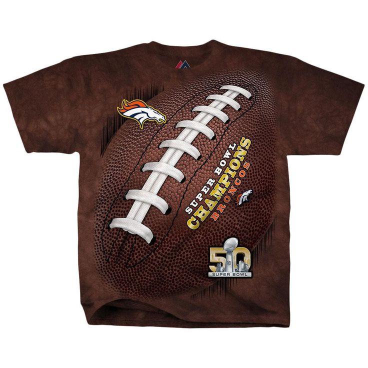 Denver Broncos - Super Bowl Kickoff All Over Adult T-Shirt