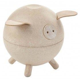 Piggy Bank – Beyaz