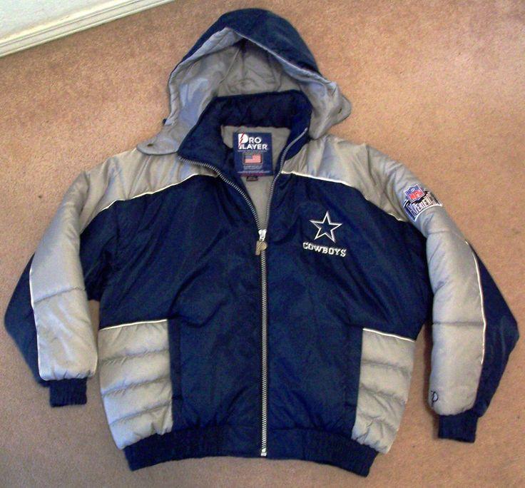 Dallas Cowboys...Original Winter Coat w/Hood Football XL