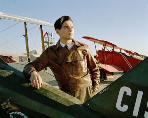 THE AVIATOR (2004). Leonardo DiCaprio plays aviation pioneer Howard Hughes in a biopic from director Martin Scorsese.