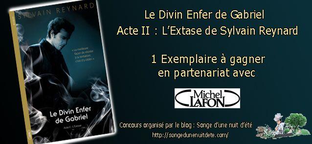 """1 Exemplaire du Tome 2 de """"Le Divin Enfer de Gabriel"""" à gagner !"""