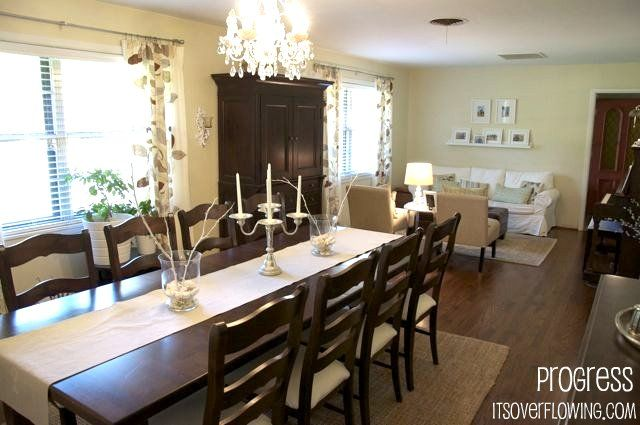 Open Concept Ranch Living Room Ranch Remodels