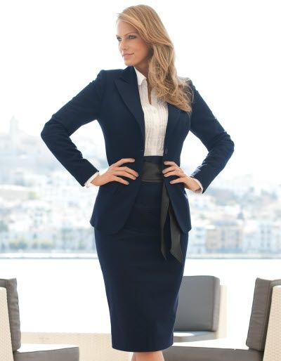 100  ideas to try about Blue Skirt Suit Styling | Cobalt blue ...