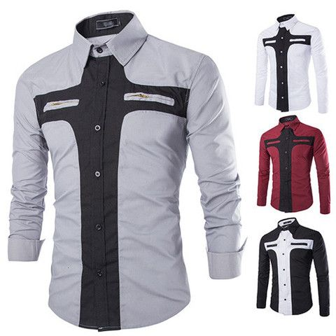 Mens Double Pocket Shirt