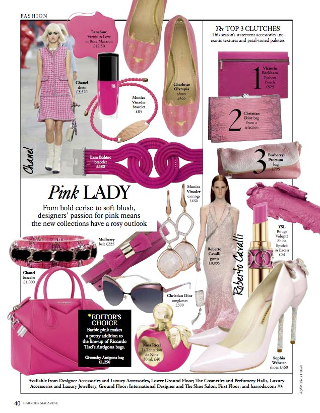 February Issue:Pink Lady