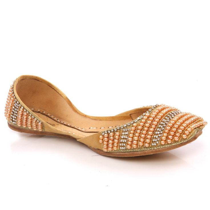 Women 'Rano' Leather Indian Khussa Pumps