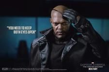 HOT TOYS CAPTAIN AMERICA NICK FURY WINTER SOLDIER Marvel sideshow mms315 1/6th