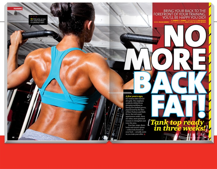 No more back fat! health-and-fitness