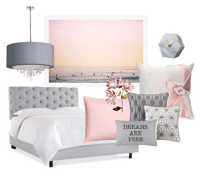 Dreams are free by kelschiao on Polyvore featuring interior, interiors, interior design, home, home decor, interior decorating, Dot & Bo, Madison Park, Biltmore and Park B. Smith