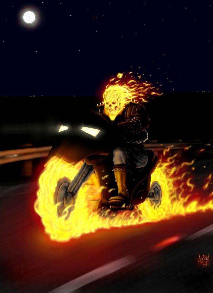 Ghost Rider by HarryBuddhaPalm.