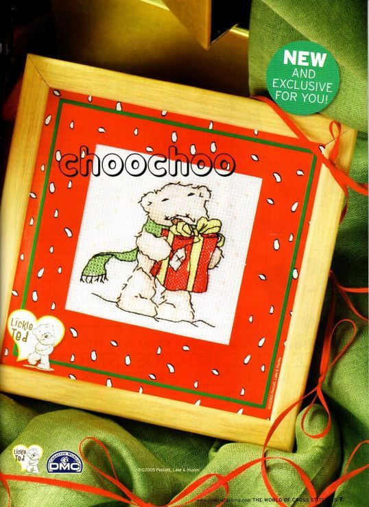 Lickle Ted Present The World of Cross Stitching Issue 104 Christmas 2005 Saved