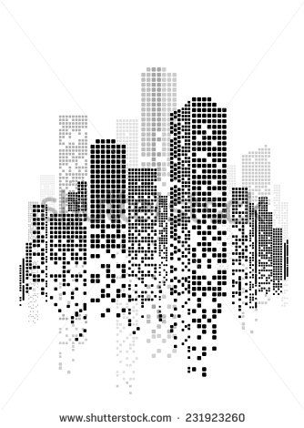 Vector Design – Eps10 Building and City Illustrati…