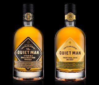 THE QUIET MAN IRISH WHISKEY BRAND TO LAUNCH IN THE US