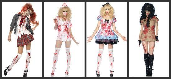 zombie school girl   Zombie School Girl / Bloody Nurse / Undead Alice / Officer Armbiter