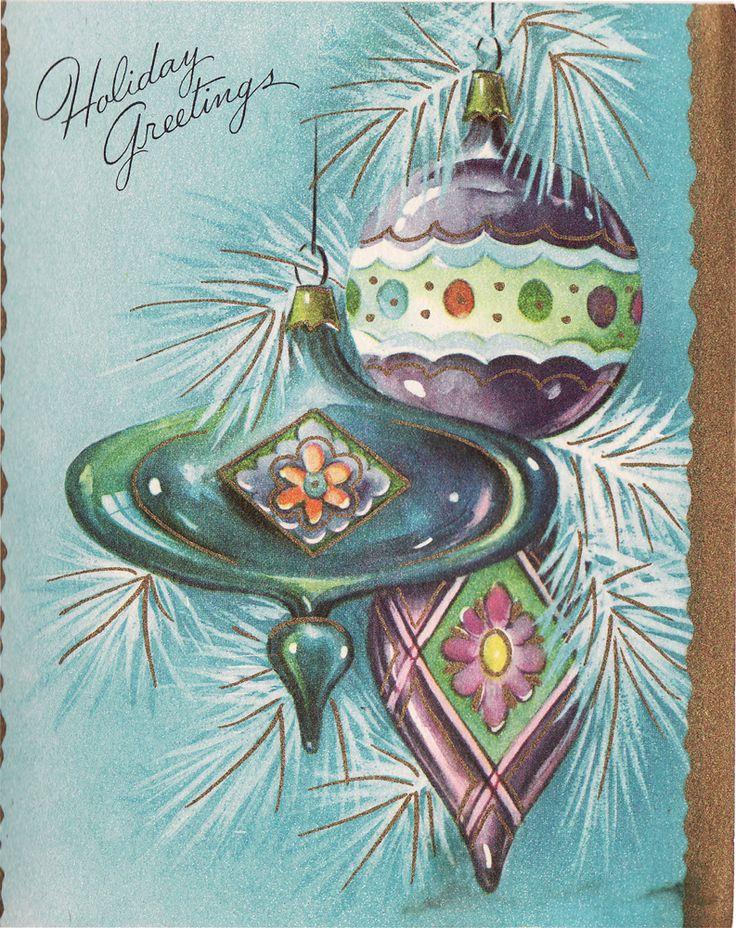1950's christmas cards | ... , vintage photographs, forgotten ephemera: Christmas Cards 1950's