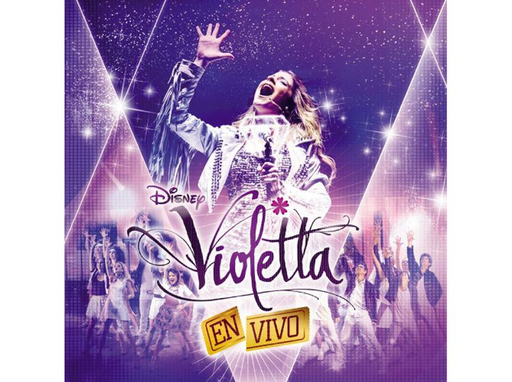 Violetta CD és DVD - Violetta - En Vivo (CD + DVD)