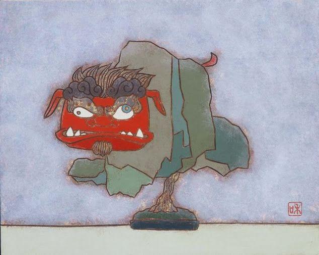 瀧下和之 獅子舞フ 3F 彩旬会 ー粋ー