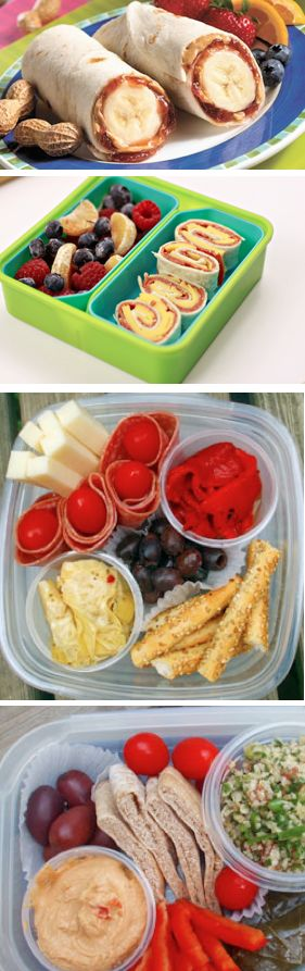 School Lunches -- pfft, forget school lunches, I want these for work lunches!
