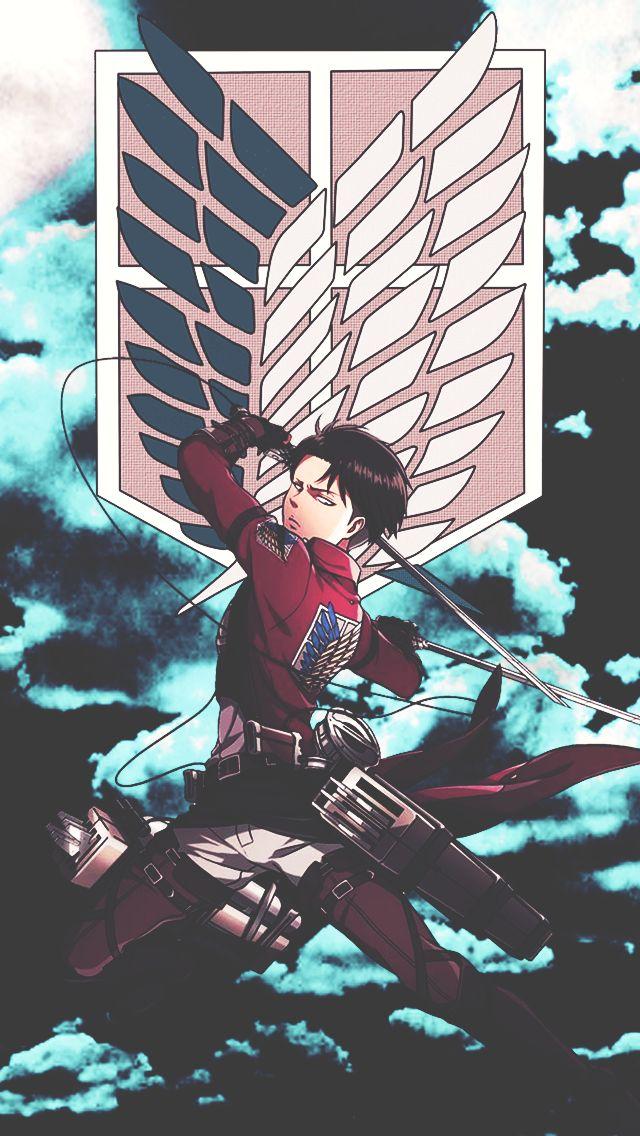 Levi, Eren, and Mikasa - Attack on Titan - Shingeki no Kyojin