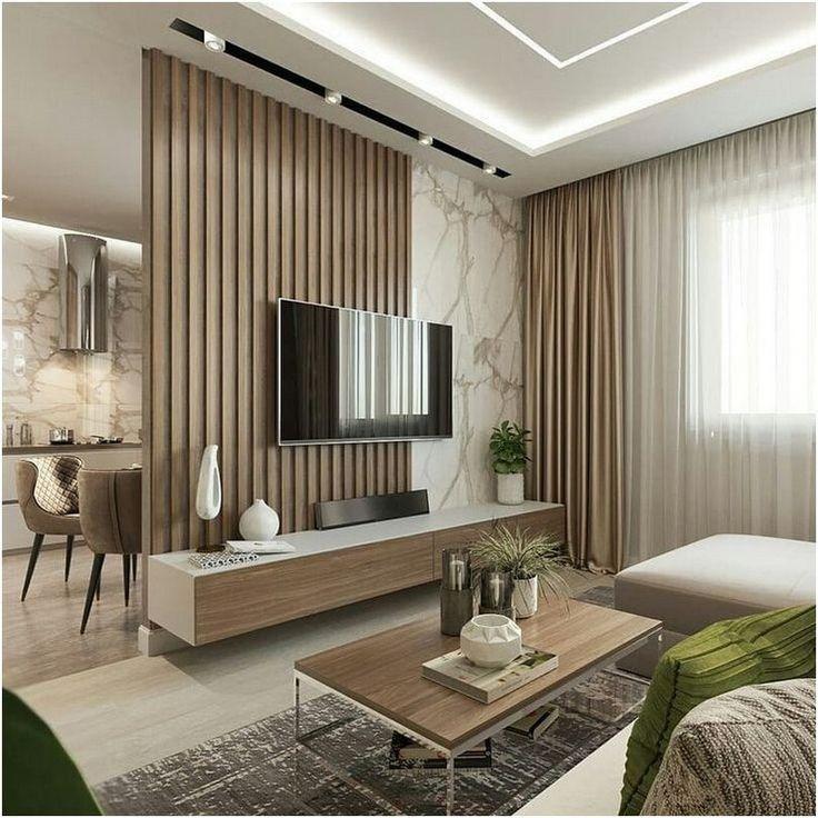42 Stylish Homes With Modern Interior Design Living Room Design Modern Modern Apartment Design Apartment Design Latest style tv room design