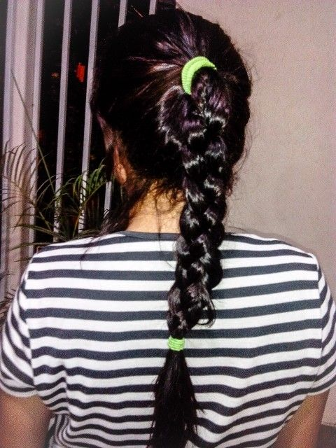 #Trenza #Braids #Ponytail #Trenza4cabos #casual