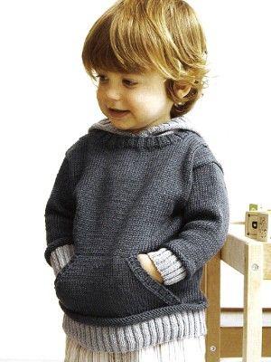 С капюшоном пуловер | Вязание Лихорадка Пряжа и Евро Пряжа