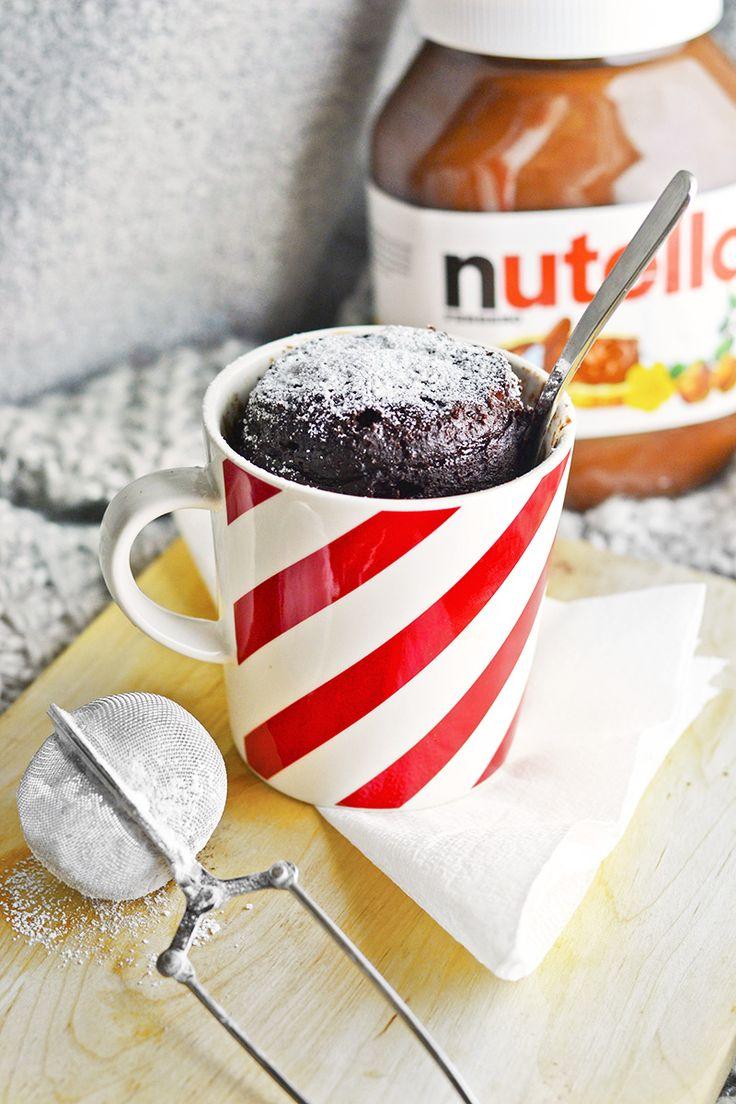 Jauhoton Nutella-mukikakku