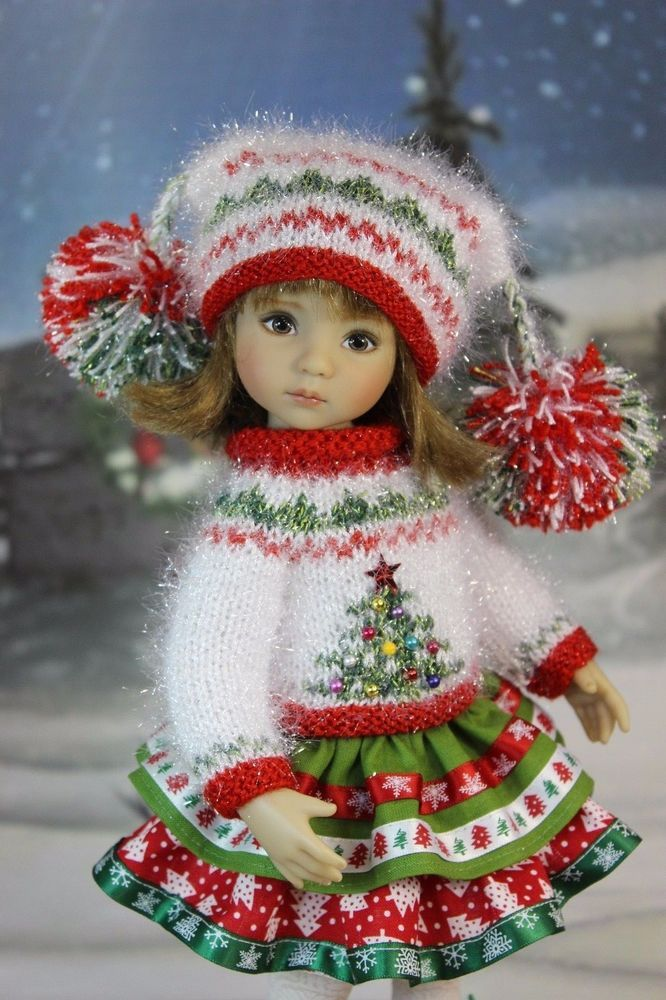 "The dress for a doll Дианна Effner Little Darling 13"". doll clothes, dress #"