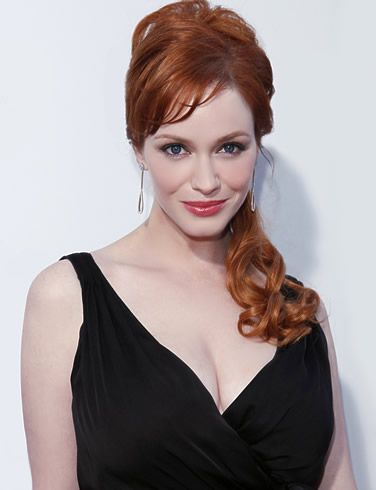 Christina Hendricks - As a man who works with women's clothing, I use women I know as well as celebrities as style inspirations. I think Christina Hendricks from Mad Men is one of the most beautiful women in Hollywood these days, so my posts today are inspired by her.
