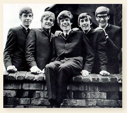 Herman's Hermits are an English pop band, formed in Manchester in 1964.    Originally called Herman & The Hermits, they were discovered by Harvey Lisberg, who signed them up to management. Lisberg sent a return plane ticket to Mickie Most so that he could come up from London to see the band play in Bolton. Most became the group's record producer, controlling the band's output. He emphasised a simple, non-threatening, clean-cut image, although the band originally played R&...