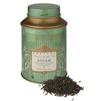 Assam tea from Fortnum & Mason