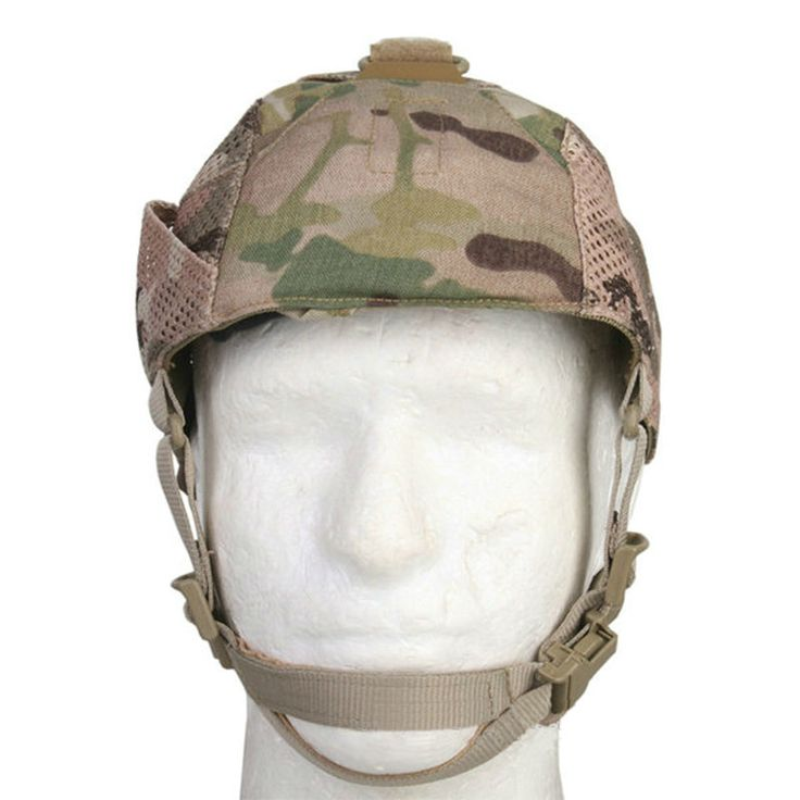 Stay covert in the bush and keep your head protected from enemy fire with our Oakley cap. Made of heavy-duty nylon, this lightweight and breathable headgear cushions the blow from debris and paintballs. Waterproof, shock resistant, and durable, this cap has a padded chin strap to guard against chaffing and a removable forehead pad to both protect you from injury and irritation. Hook and loop fasteners make it easy to add accessories.
