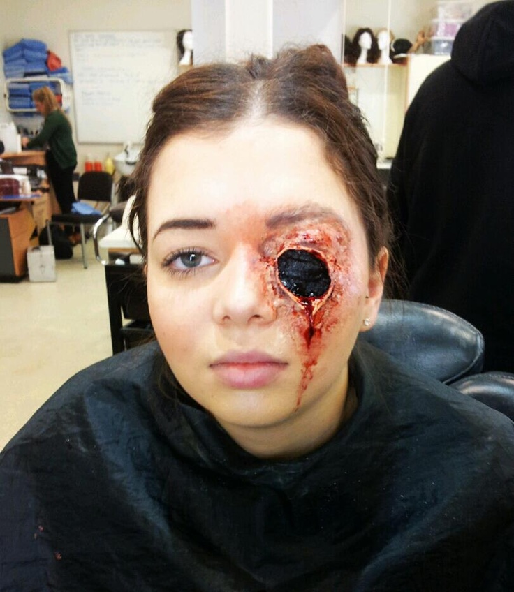 Special Effects Makeup - Missing Eye | My Makeup Work | Pinterest | Horror Special Effects ...