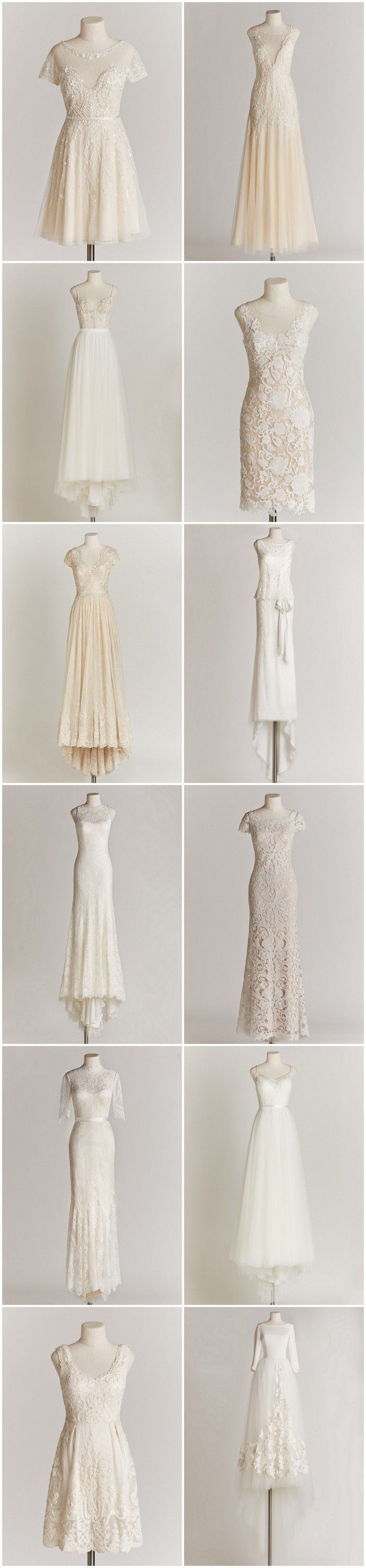 Chic Sophisticated Wedding Dresses for the Refined Romantic: http://www.confettidaydreams.com/chic-sophisticated-wedding-dresses/