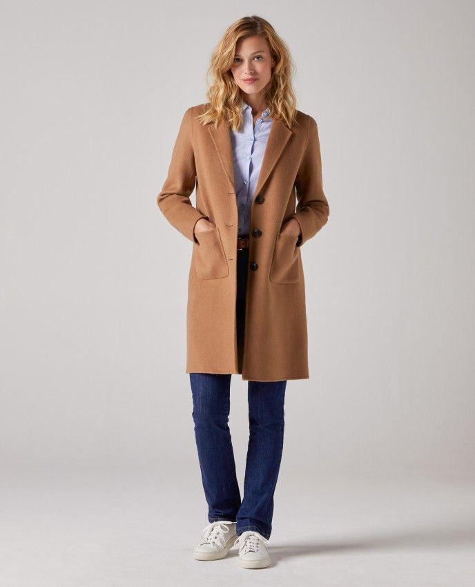 manteau femme camel burton