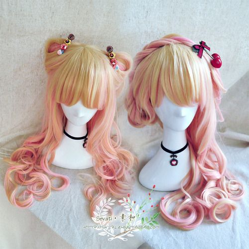pretty lolita wigs,All kinds of lolita fashion wigs shop at Gofavor.us I love the hairstyle on the right!!!