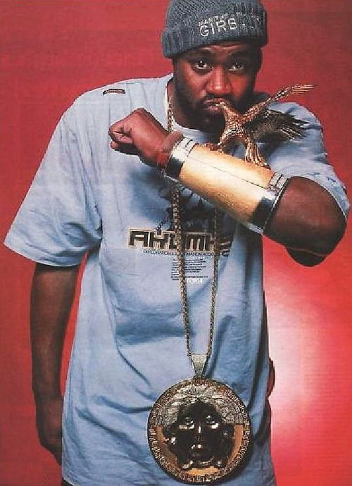 6. Ghostface Killah dropped $50,000 on the Versace Medallion plate ALONE! Eagle sold separately