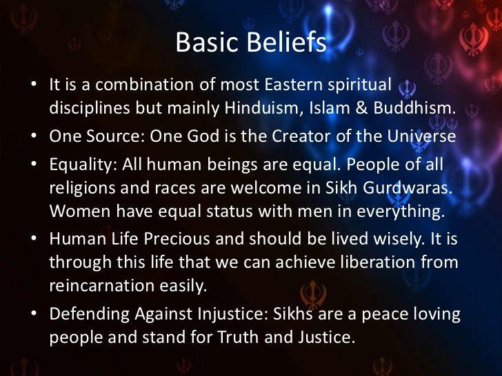 Sikh beliefs, do's, dont's & celebrations by Simerpreet Kaur via slideshare