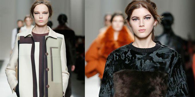 #fendi: Ad ispirare Karl Lagerfeld e Silvia Venturini Fendi è il lavoro dell'artista svizzera Sophie Taeuber.http://www.sfilate.it/242062/arte-e-sperimentazione-sulla-passerella-di-fendi