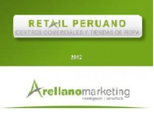 NEGOCIOS (Libro electrónico - Acceso al texto completo) Brinda información detallada y comparada, necesaria para una mejor gestión de los centros comerciales modernos y tradicionales, así como de las tiendas de ropa ubicadas en Lima, Arequipa y Trujillo.