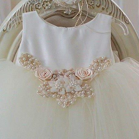 Wings of a Angel Flower Girl Dress