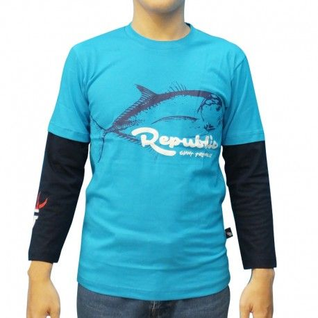 "Kaos Mancing IFT ""REPUBLIC GIANT TREVALLY"""