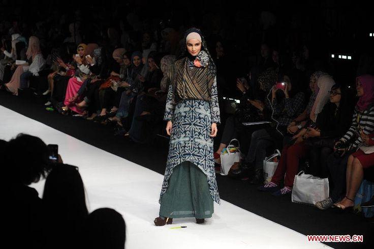 INDONESIA-JAKARTA-FASHION WEEK 2014