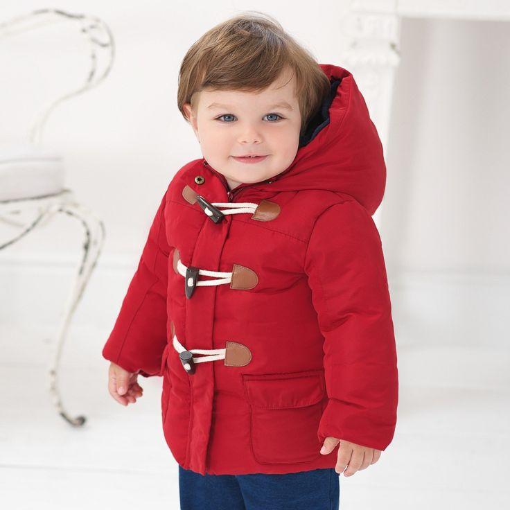 Płaszcz z kapturem dziecięcy
