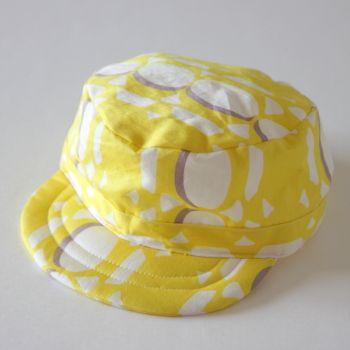 キャップ(帽子)の縫い方 - pivot pattern 無料型紙 & 縫い方解説