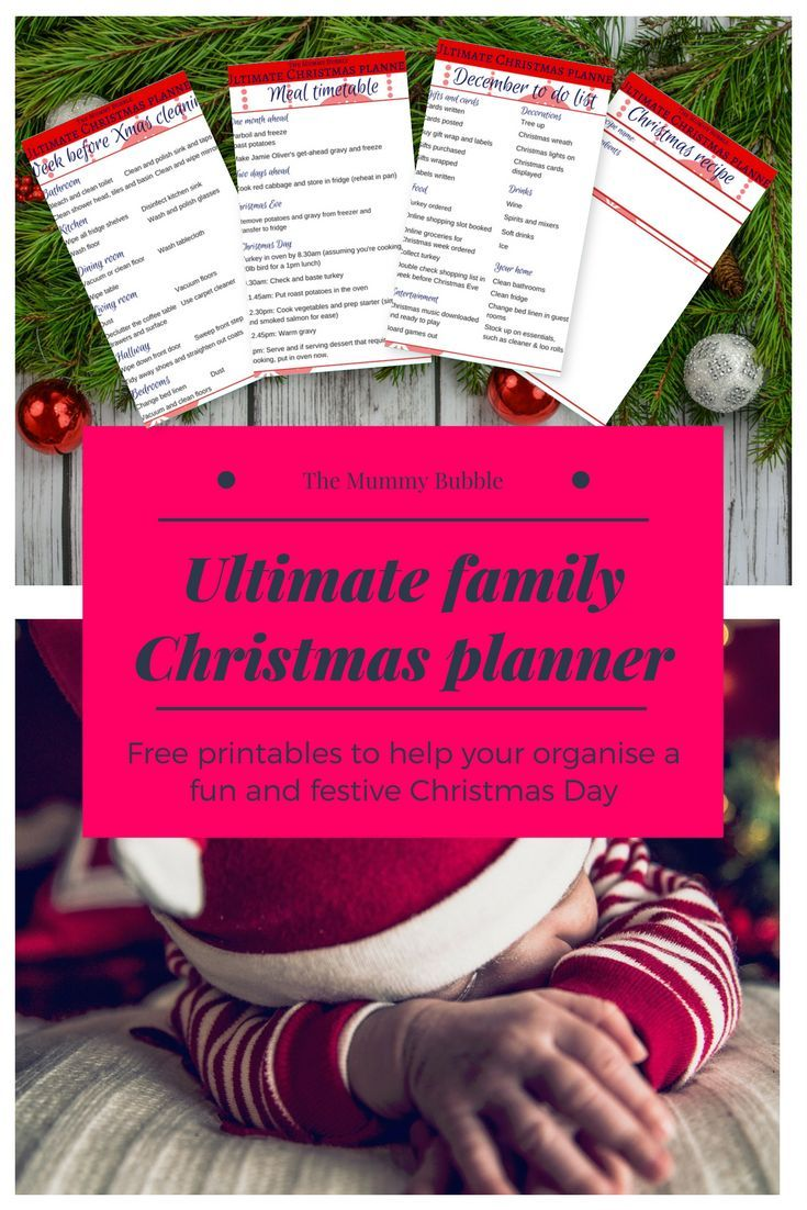 Hosting Christmas this year? Here are some top tips for getting prepared and a free pack of printables for Christmas Day to help get organised ahead of the day. It includes a timetable for Christmas Day and cleaning checklist for the week before Christmas.
