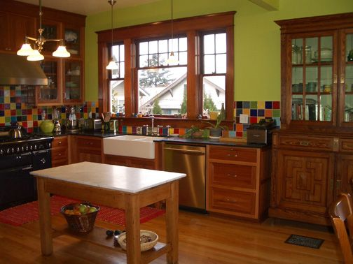 Farm Style Kitchen Design European Farm Kitchens My Kitchen Combines Classical Craftsman Style