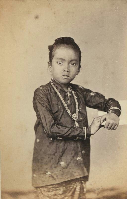 Dochter van Mangkoe Nagoro IV te Soerakarta. Before 1868