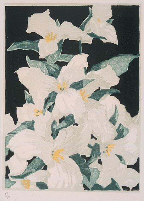 Trilliums by Franklin Carmichael